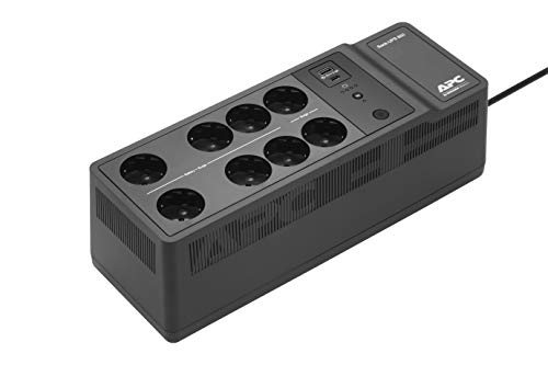 APC by Schneider Electric Back-UPS ES BE850G2 IT Gruppo di Continuità 850 VA, 8 Uscite Protette da Sovratensioni, 2 Porte di Ricarica USB, 520 W
