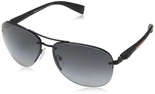 Prada LINEA ROSSA PS 56MS Gafas de sol, Black Rubber, 65 para Hombre