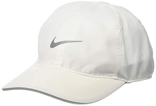 Nike Cap Featherlight, White, One Size, AR1998-100, Einheitsgröße