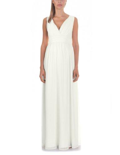bellybutton Damen Umstandsmode Kleid 11805/ Dilara, Gr. 36, Elfenbein (Champagne 91100)