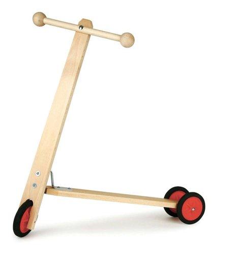 Kinder-Roller, Buche, 3 Räder