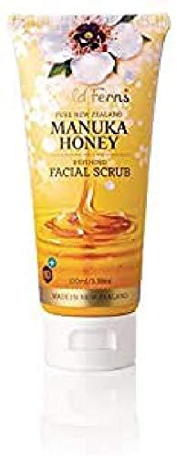 Wild Ferns exfoliant visage miel de manuka