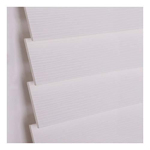 CHAXIA Persianas Venecianas Enrollable Romanas Protector Solar Impermeable Oficina Ascensores Cortina PVC, 3 Colores Opcionales (Color : B, Size : 130x160cm)
