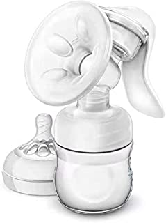 Manual Breast Pump, LT Portable Hand Pump for Breastfeeding (B)