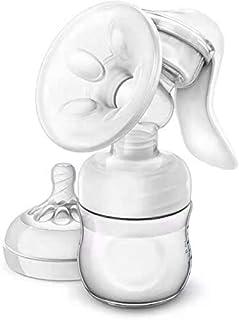 Manual Breast Pump, LT Portable Hand Pump for Breastfeeding (B)