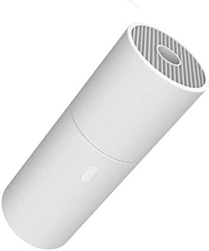 JUJ® Wireless Auto-Staubsauger Handheld Tragbarer Konfetti-Reiniger Multifunktionaler Desktop-Staubsauger Geeignet für Heimauto und Haustier Schwarz-Weiß