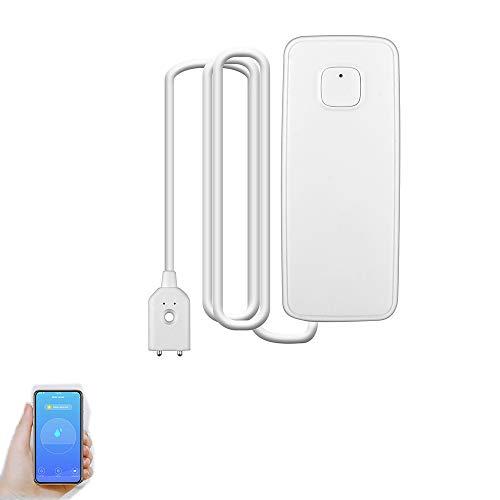 Smart WiFi Wasseralarm Smart Mobile Detector App Benachrichtigung PerFinger Alarm Wasser Sensor Sicherheit Haushalt