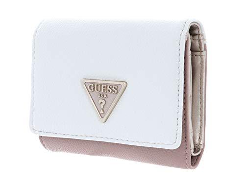 Guess portafoglio donna con bottone colore bianco Multi