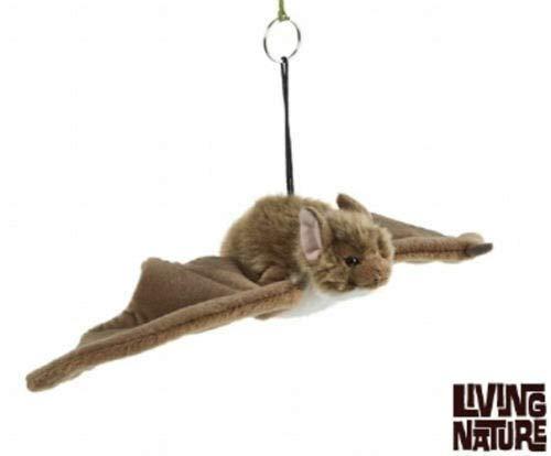 Living Nature knuffeldier - kleine vleermuis (24cm)