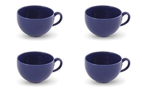 Lot de 4 tasse de café 0,24l Happy Mix bleu