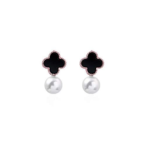 Daman Korean Style Oil Drop Pearl Earrings Women Earrings Simple Temperament All Match Personalized All Match Earrings