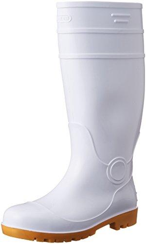 [AITOZ]アイトス 4437_001 29cm 長靴 鋼製先芯 耐油 3E ホワイト