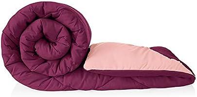 VYBBA Premium Comforter || Microfiber Reversible AC Comforter / Blanket for Winter / Quilt / Duvet , Single Bed King...