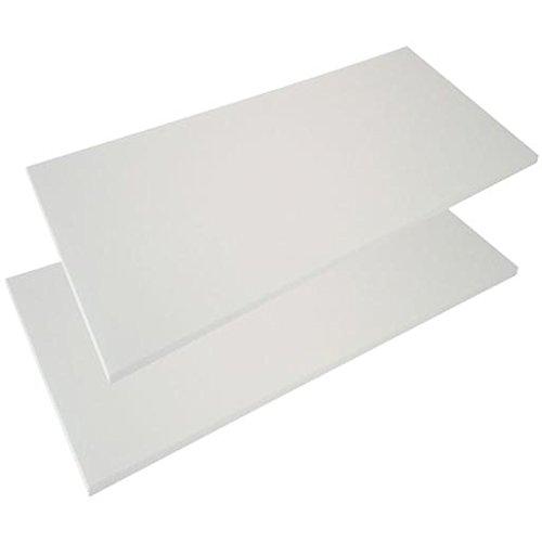 Coppia Ripiani per Armadio AR9302 Bianco