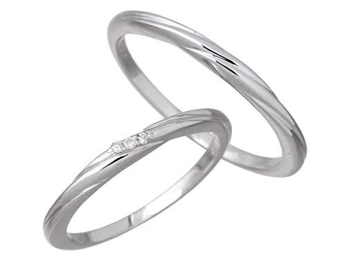 LOVERS SCENE ラバーズシーン シルバー ペア リング 指輪 ダイヤモンド 7〜15号 11〜21号 LSR-0127-P
