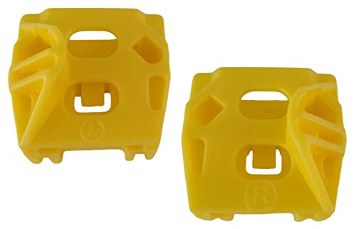 Twowinds - 2 X Fensterheber-Clip vorne Links rechts 1J4837462F Bora Jetta Golf IV Variant
