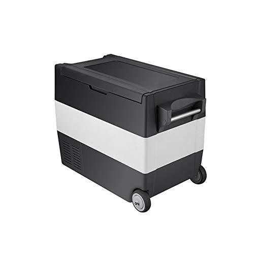 NZNDONE 55L Kompressor Auto Gefrierschrank Kühlschrank Kühlung Mini-Kühlschrank kleine Haushalt Kühlauto Dual-Use-Schnellgefrieren