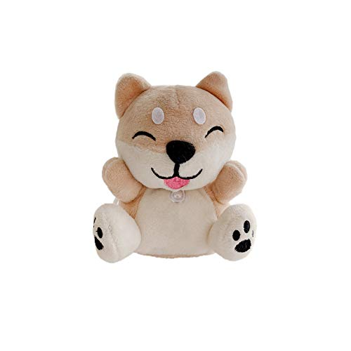Warm Soft Fluffy Plush Case for Apple AirPods Pro 3 3rd Generation Shiba Inu Dog Puppy with Keychain 3D Cartoon Stuffed Doll Toy Animal Character Funny Cute Comfortable Kids Teens Girls Women