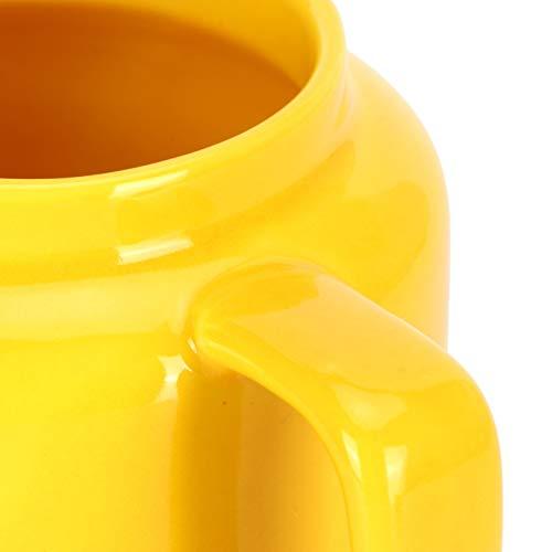 HAOX Vaso de Agua, no Calefactor para microondas Vaso para Bebidas Práctico para hogares Escuelas para oficinas