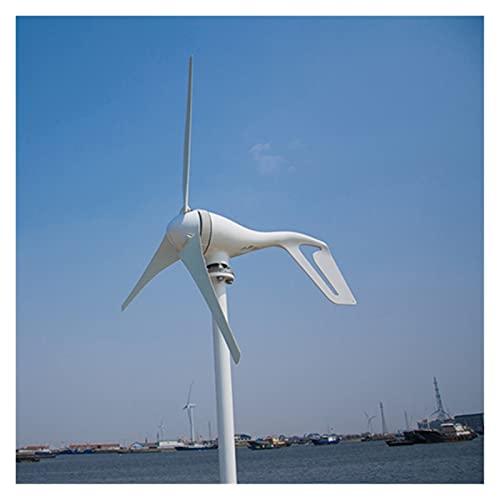 WFBD-CN Turbina de Viento Generador de Viento Horizontal de 400W 3 Fase para Uso en Barco con CE Certificado generador de Viento (Color : Free Controller, Specification : 6 Blades)