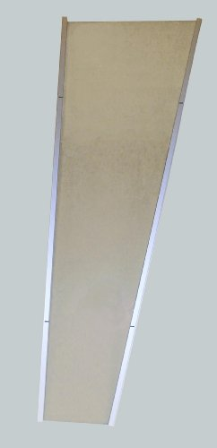 Vordach LIGHTLINE Seitenelement XL 1.670 x 850 x 550 mm