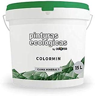 Pintura Ecológica de Silicato para Exterior e Interior. ColorMin 15 l.