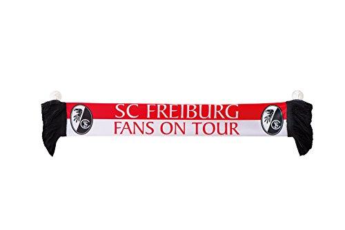 Unbekannt Autoschal SC Fans on Tour SC Freiburg kompatibel -mit Saugnäpfen/Schal/Scarf/rassis/viciado Fanschal