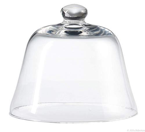 Asa Cloche en verre Transparent 17,5 cm