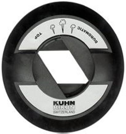 KUHN RIKON Duromatic Top Modulo de Tapa, 10 x 10 x 3.5 cm, Negro ...