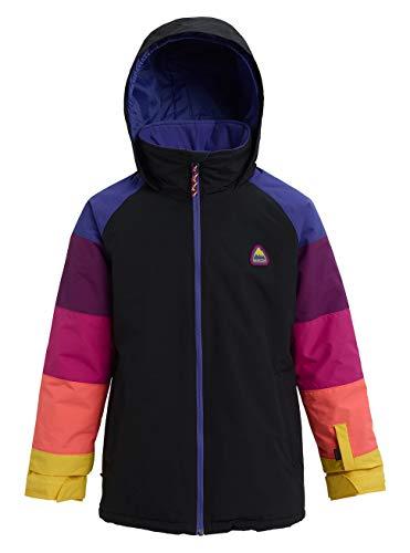 Burton Mädchen Snowboard Jacke Hart, True Black Multi, L, 11570102001