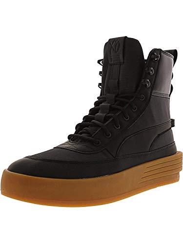 Puma Men's Xo Parallel Tactical Black/High-Top Nylon Fashion Sneaker - 9.5M