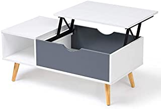 Amazon Fr Table Basse Relevable Extensible