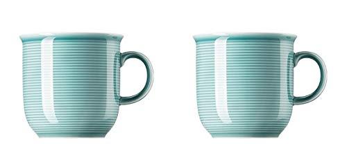 2 x Becher mit Henkel groß - Thomas Trend Colour Ice Blue - 11400-401921-15571