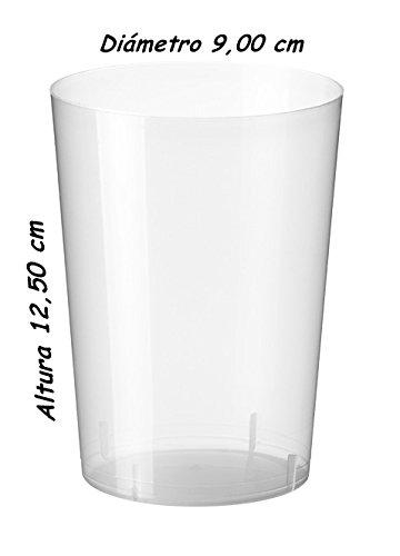 Sumicel Vaso de Sidra desechable, Caja 340 Unidades (Polipropileno)