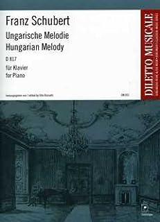 Hongaarse Melodie H-MOLL D 817 - geregeld voor piano [Noten/Sheetmusic] Componist : Schubert Franz