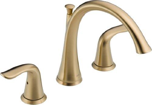 Delta T2738-CZ Lahara Roman Tub Trim, Champagne Bronze