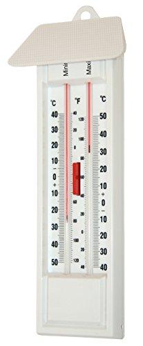 Kerbl 29141 Maximum Minimum Thermometer, quecksilberfrei