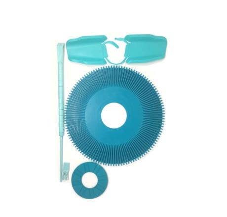 Why Choose Drrsparts Pool Cleaner Parts Kit Seal Disc Wings Foot Pad Roller Bumper for Kreepy Krauly