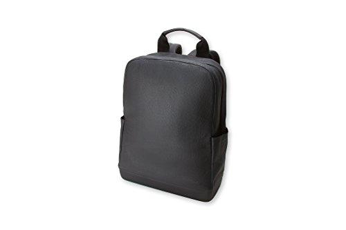 Moleskine Zaino Classic in Pelle, Zaino Porta Pc per Laptop, Tablet, Notebook, iPad e Computer fino a 15'', Dimensioni 32 × 42 × 11 cm, Colore Nero