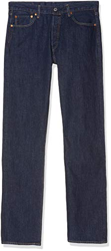 Levi's 501 Original Fit Jeans Vaqueros, Azul (Onewash 0101), 36W / 32L para Hombre