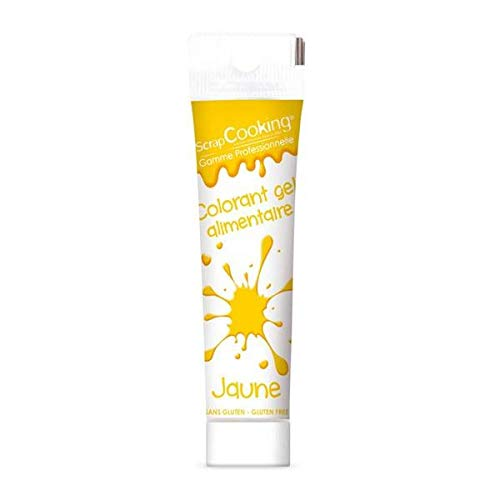 Gel colorant alimentaire jaune 20 g