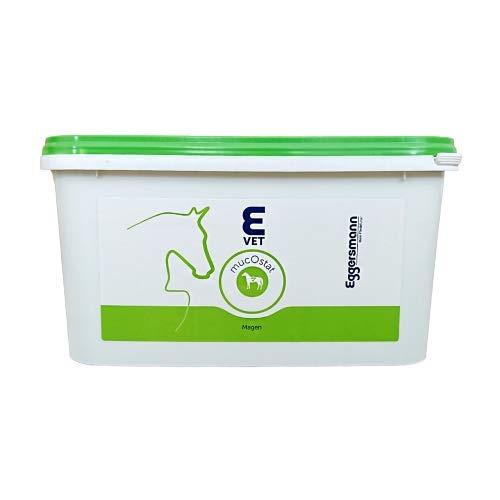 Eggersmann E Vet mucOstat – Ergänzungsfutter für Magen & Darm – Pferdefutter für Verdauungsstörungen – 3 kg Eimer