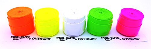 Overgrip Pro Elite Confort Perforado Blanco: Amazon.es: Deportes y ...