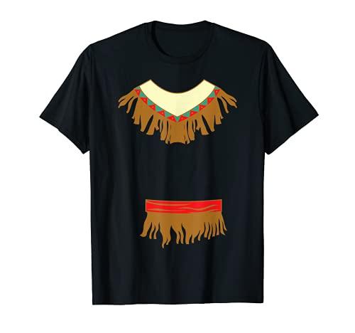 Disfraz de fiesta india nativa americana de Halloween Camiseta