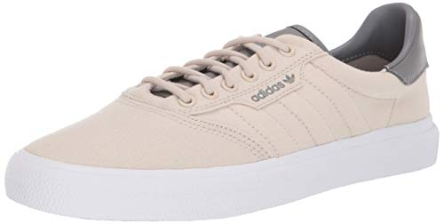 adidas Originals Men's 3MC Regular Fit Lifestyle Skate Inspired Sneakers Shoes, Clear Brown/Grey/White, 5.5 M US