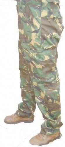 Castle Blu/Boston Army Camouflage Cargo Robuste Arbe itshos 'alle Dimensioni DPM Woodland Camo XXX-Large