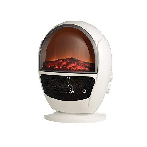 Verwarming – 600 W draagbare radiator, elektrische haard met tip-functie, garage, binnenruimte, huis