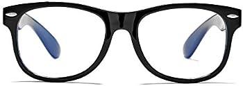 AZorb Kids Blue Light Blocking Soft TPEE Unbreakable Frame Glasses