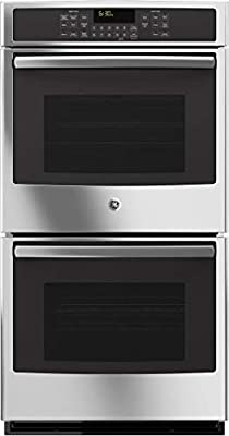 """GE JK5500SFSS 27"""" Built-In Double Convection Wall Oven In Stainless Steel"""
