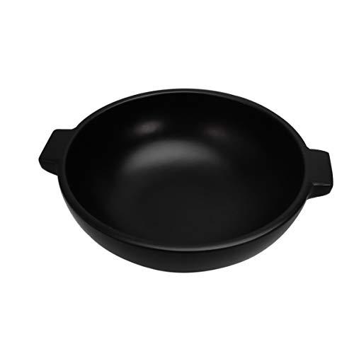 Toyvian Wok Madera Negro Niños Juguetes Cocina Herramientas